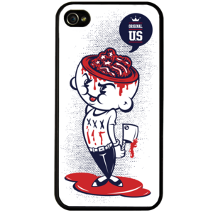 Image of 'Scars and Stripes' Phone Cover