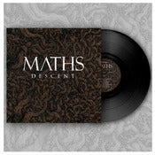 "Image of DK005: Maths - Descent 12"" LP - 2nd Press - Black Vinyl w/ Screened Covers - Brown /75"