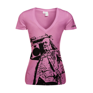 Image of Women's Ben Jammin' - Deep V (Pink)