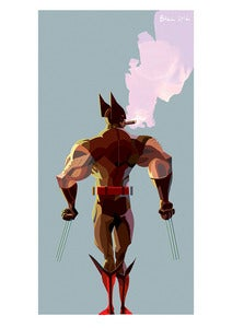 Image of Wolverine's Back