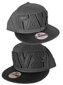 ΓΔVΣ® Logo NewEra® Hat<br>Black/Black