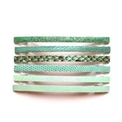 Image of Skinny Barrette - aqua