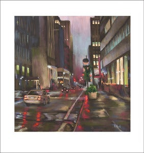 Image of Manhattan, limited edition print