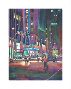 Image of O, City, limited edition print