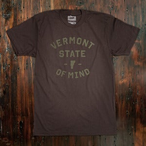 Image of Vermont State of Mind - Brown