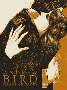 Image of Andrew Bird Hands of Glory Tour Poster // 18x24