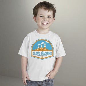 Image of The Cloud Machine Toddler Tee