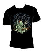 Image of Lady Cthulhu Tee Shirt in Black