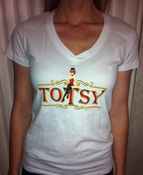 Image of Gal's White Totsy Tee