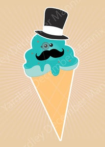 Image of Mr. Ice Cream Print