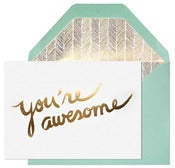 Image of You're Awesome card