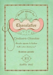 Image of Mint Chocolatier Notebook