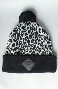 Image of Leopard B Beanie Black