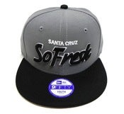 "Image of SO FRESH CLOTHING ""HOOD OL DAYS"" NEW ERA SNAPBACK (KIDS)"