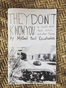 Image of They Don't Know You: A Comic About Music, Tour and Other Things