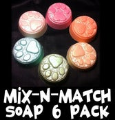 Image of Buy 5 Soaps, Get 1 Free: Mixed 6 Pack (READ DESCRIPTION)