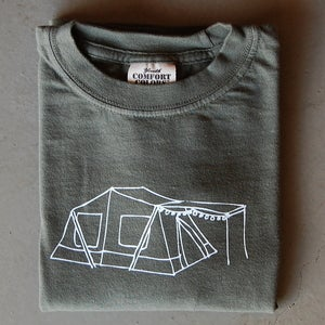 Image of Tent Long-Sleeved Children's Tee