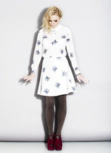 Image of The Owl  Set of shirt and skirt