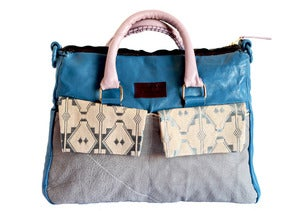 Image of Fagunwa Blue Drops bag