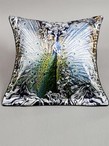 Image of Peacock Cushion