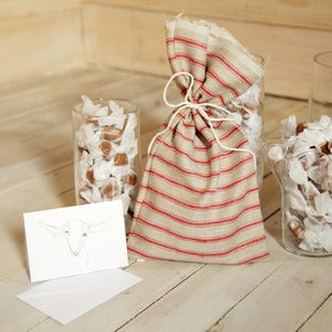 Image of Hand-sewn Gift Satchel (natural)
