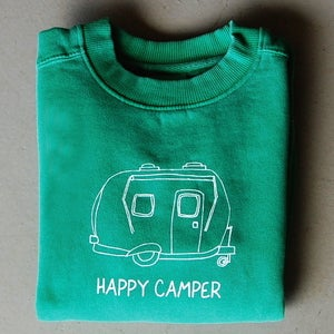 Image of Happy Camper Crewneck Sweatshirt