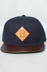 Image of The Bension B Strap back Blue