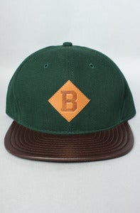 Image of The Benson B Strap back Green