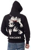 Image of Hands to Mouth Zip-Up Hoodie