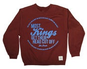 Image of MOST KINGS MAROON PULLOVER
