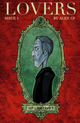 Image of LOVERS issue 1. HP Lovecraft comic by Alex CF