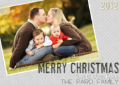 Image of Shabby Greys Holiday Card