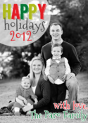 Image of Krafty Holiday Holiday Card
