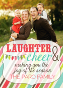 Image of Laughter & Cheer Holiday Card