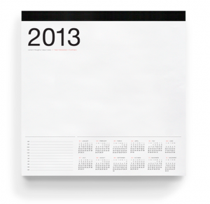 Image of SMART DECK CALENDAR PAD