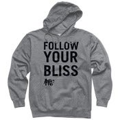 Image of Black Follow Your Bliss Pullover Hoodie 