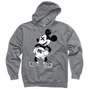 Image of BW SLOTH'D Mouse pullover hoodie