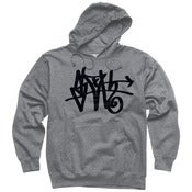 Image of Black SLOTH Tag pullover hoodie