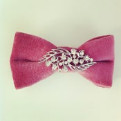 Image of MAUVE MOMENTS HAIR BOW