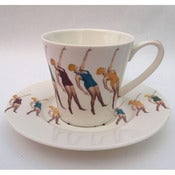Image of Alice Mara: Swimmer Cup and Saucer