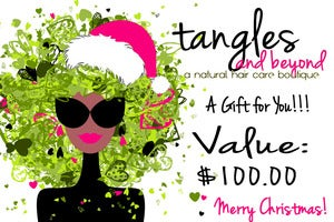 Image of Tangles and Beyond Gift Certificates!