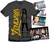 Image of Zendaya Gold Sticker Package Grey