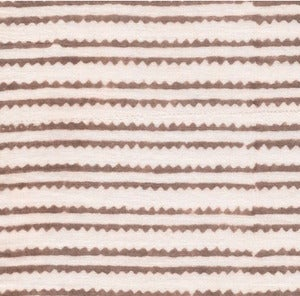 Image of Taupe Zig Zag Pillowcase