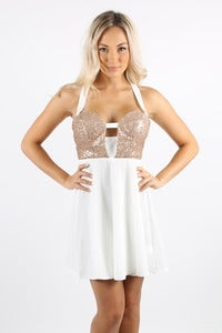 Image of GOLDEN GODDESS DRESS - BACK IN STOCK!