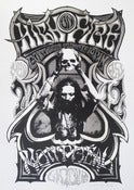 Image of High on Fire - Montreal 2012 - Silkscreen Poster