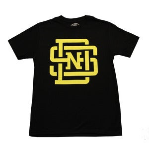 Image of Lockup T-Shirt (Black/Yellow)