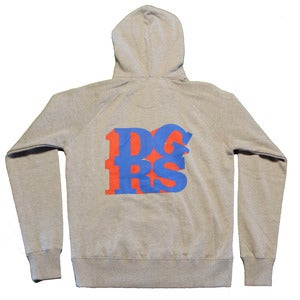 Image of DGRS Zip-Up Hoodie
