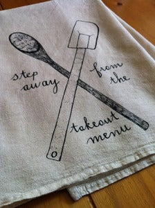 Image of floursack kitchen towel