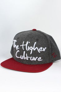 Image of Signature Snapback (Grey/Maroon)