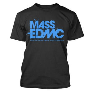 Image of MASS EDMC - Black + Neon Blue